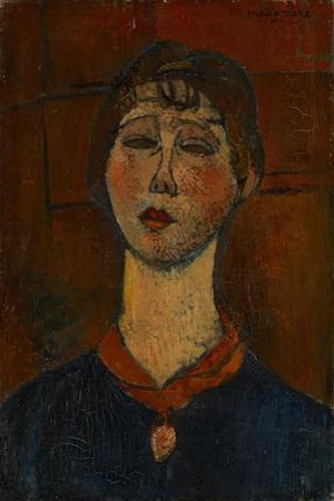 Portrait of Madame Dorival, c.1916 by Amedeo Modigliani
