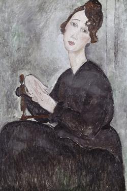 Portrait of Madame Mayden by Amedeo Modigliani