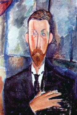 Portrait of Paul Alexander's by Amedeo Modigliani