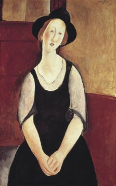 Portrait of Thora Klinchowstrom by Amedeo Modigliani