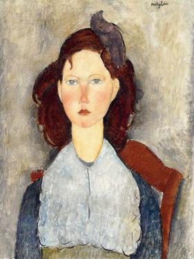 Seated Girl, 1918 by Amedeo Modigliani