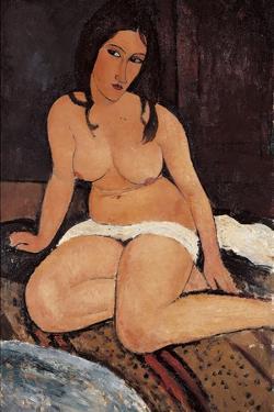 Seated Nude, 1917 by Amedeo Modigliani