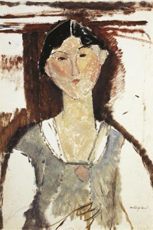 Study for Portrait of Beatrice Hastings by Amedeo Modigliani