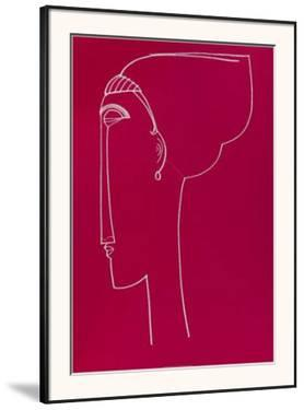 Testa Die Profilo, c.1911 by Amedeo Modigliani