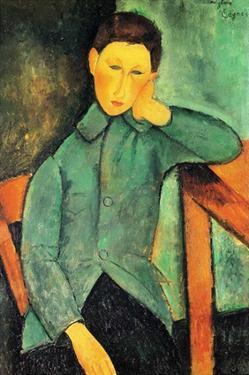 The boy by Amedeo Modigliani