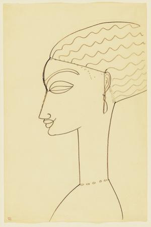 Amedeo Modigliani - Woman in Profile