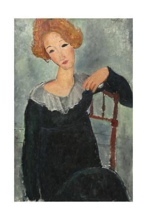 Woman with Red Hair, 1917