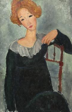 Woman with Red Hair, 1917 by Amedeo Modigliani