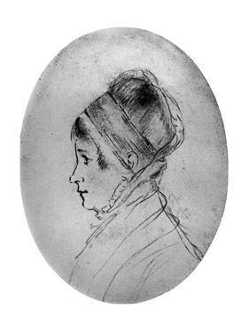 Elizabeth Fry, British Prison and Social Reformer, C1798-1800 by Amelia Alderson Opie