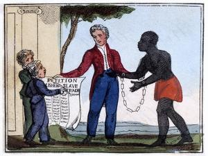 Petition for Abolishing Slavery, 1826 by Amelia Alderson Opie