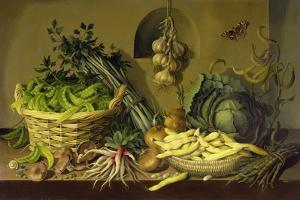 Cabbage, Peas and Beans, 1998 by Amelia Kleiser