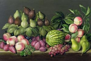 Figs, Melon and Gooseberries, 1998 by Amelia Kleiser