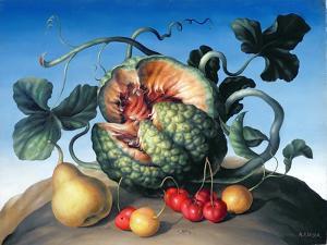 Melon on a Mountain by Amelia Kleiser