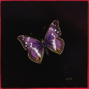 Purple Emperor Butterfly, 2000 by Amelia Kleiser