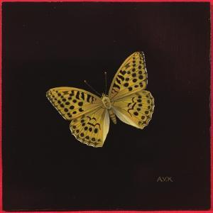 Silver Washed Fritillary Butterfly, 2000 by Amelia Kleiser