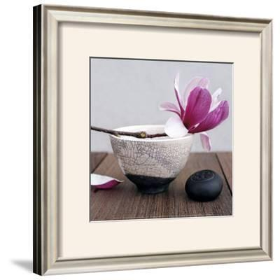 Magnolia and Bowl by Amelie Vuillon