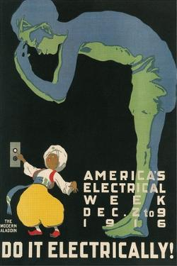 America's Electical Week Poster