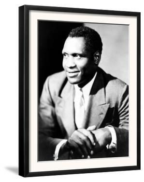American Actor, Athlete, Singer, and Civil Rights Activist Paul Robeson, 1898-1976, c.1940