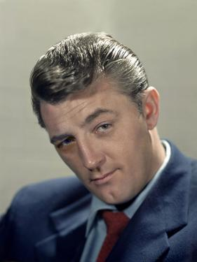 American actor Robert Mitchum (1917- 1997), c. 1952 (photo)