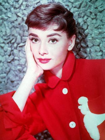 American Actress Audrey Hepburn in 1954