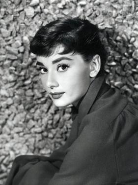 American Actress Audrey Hepburn in 1954