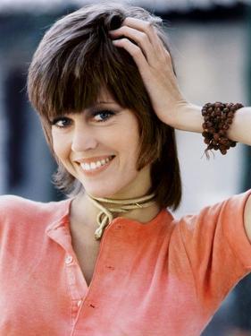 American actress Jane Fonda 1971 (photo)