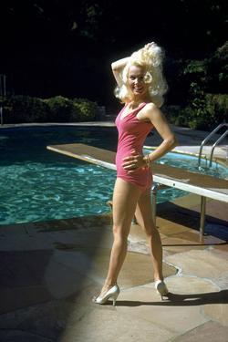 American Actress Mamie Van Doren C. Late 50's