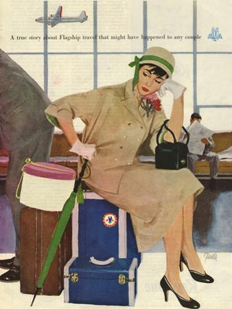 American Airlines, Al Parker, 1953, USA