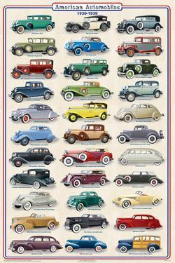 American Autos 1930-1939