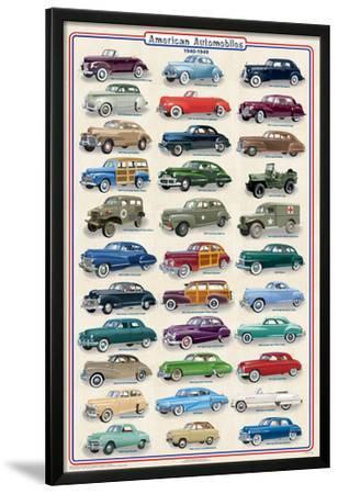 American Autos of 1940-1949