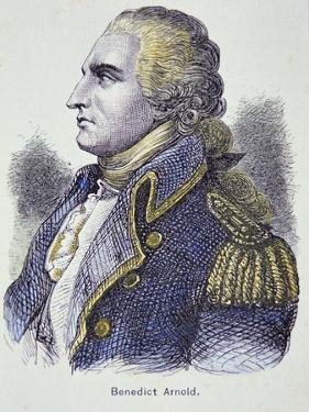 Benedict Arnold (Colour Litho) by American