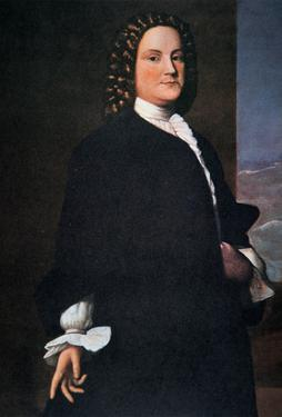 Benjamin Franklin in His Early 40S by American