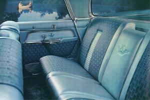 American Car Interior with Fishermen