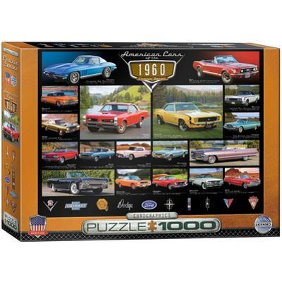 American Cars of the 1960s 1000 Piece Puzzle