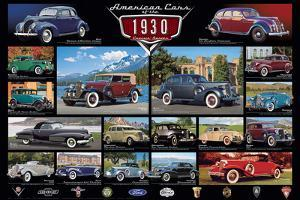 American Classic Cars Of The 30s