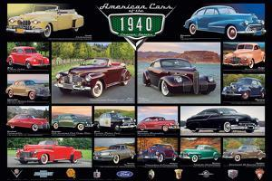 American Classic Cars Of The 40s