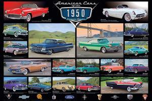 American Classic Cars Of The 50s