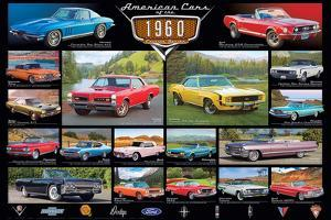 American Classic Cars Of The 60s