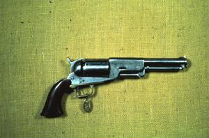 Colt 'Walker' Model .44 Calibre Revolver of 1847 (Wood and Metal) by American