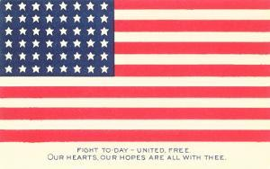 American Flag and Mottoes