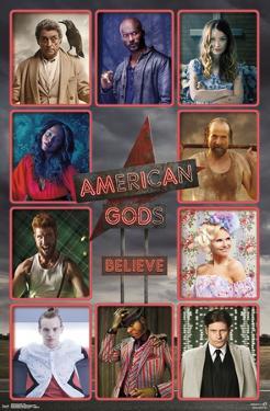 AMERICAN GODS - GRID