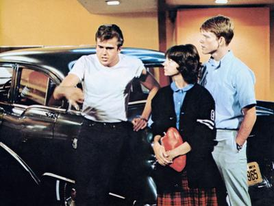 American Graffiti, Paul Le Mat, Cindy Williams, Ron Howard, 1973