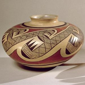 Hopi 'Bullware' Jar, from Arizona (Ceramic) by American