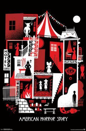 American Horror Story- Graphic Seasons