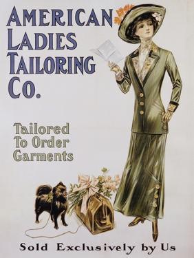 American Ladies Tailoring Co. Poster