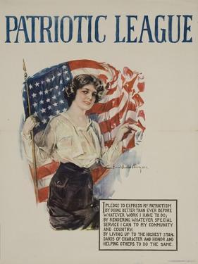 American Patriotic League Poster