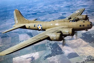 A Boeing B-17 Flying Fortress, 1944