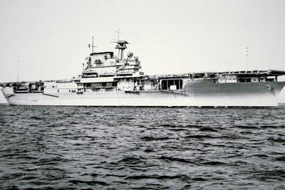 American Aircraft Carrier, Uss Yorktown, 1937
