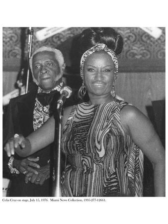Celia Cruz on Stage, 15 July 1976