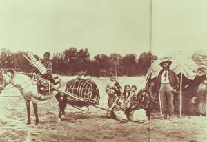 Cheyenne Indians on the Move, 1878 by American Photographer